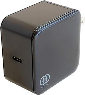 GOPPA ゴッパ 高速充電器 USB Power Delivery(USB PD)対応 60W GaN 窒化ガリウム採用 USB-IF正規認証 Type-C ブラック GP-ACC60GR/BE