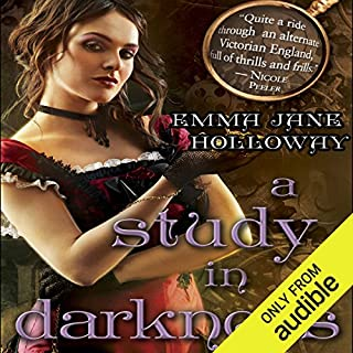 A Study in Darkness audiobook cover art