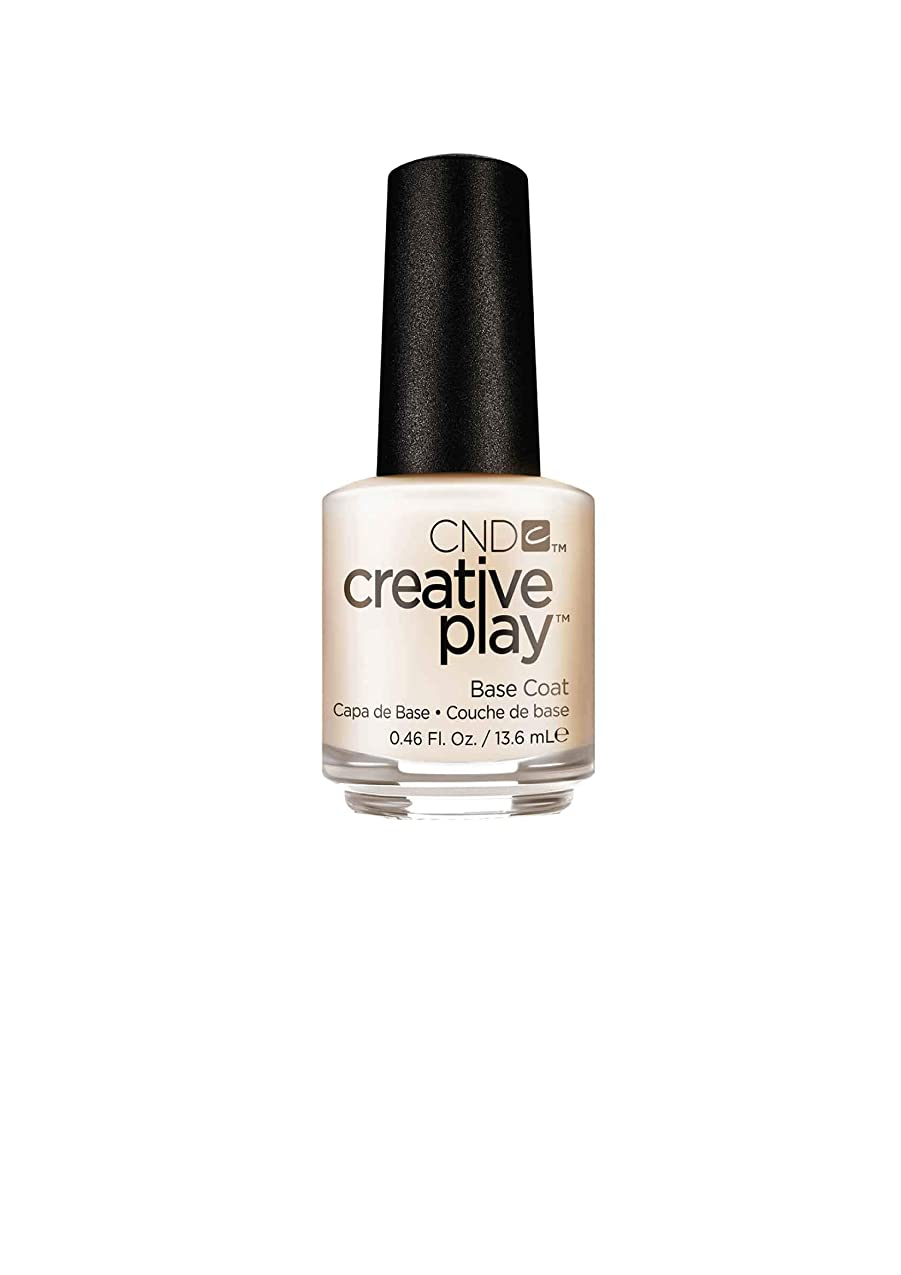 あたたかい潜む支払うCND Creative Play Lacquer - Base Coat - 0.46oz / 13.6ml