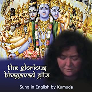 The Glorious Bhagavad Gita Sung in English audiobook cover art