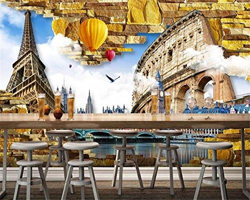 Fotobehang, behang, 3D wallpaper aangepaste slaapkamer woonkamer decoratie schilderij TV achtergrond muur 3D wallpaper 400x280cm