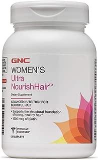 GNC Womens Ultra NourishHair 120 Caplets