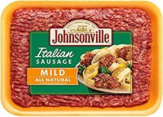 Johnsonville, Mild Italian Ground Sausage, 16 oz (Frozen)