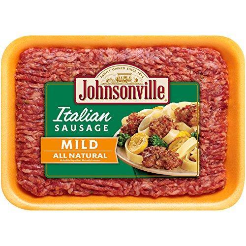 Johnsonville Mild Italian Ground Sausage, 16 oz (Frozen)