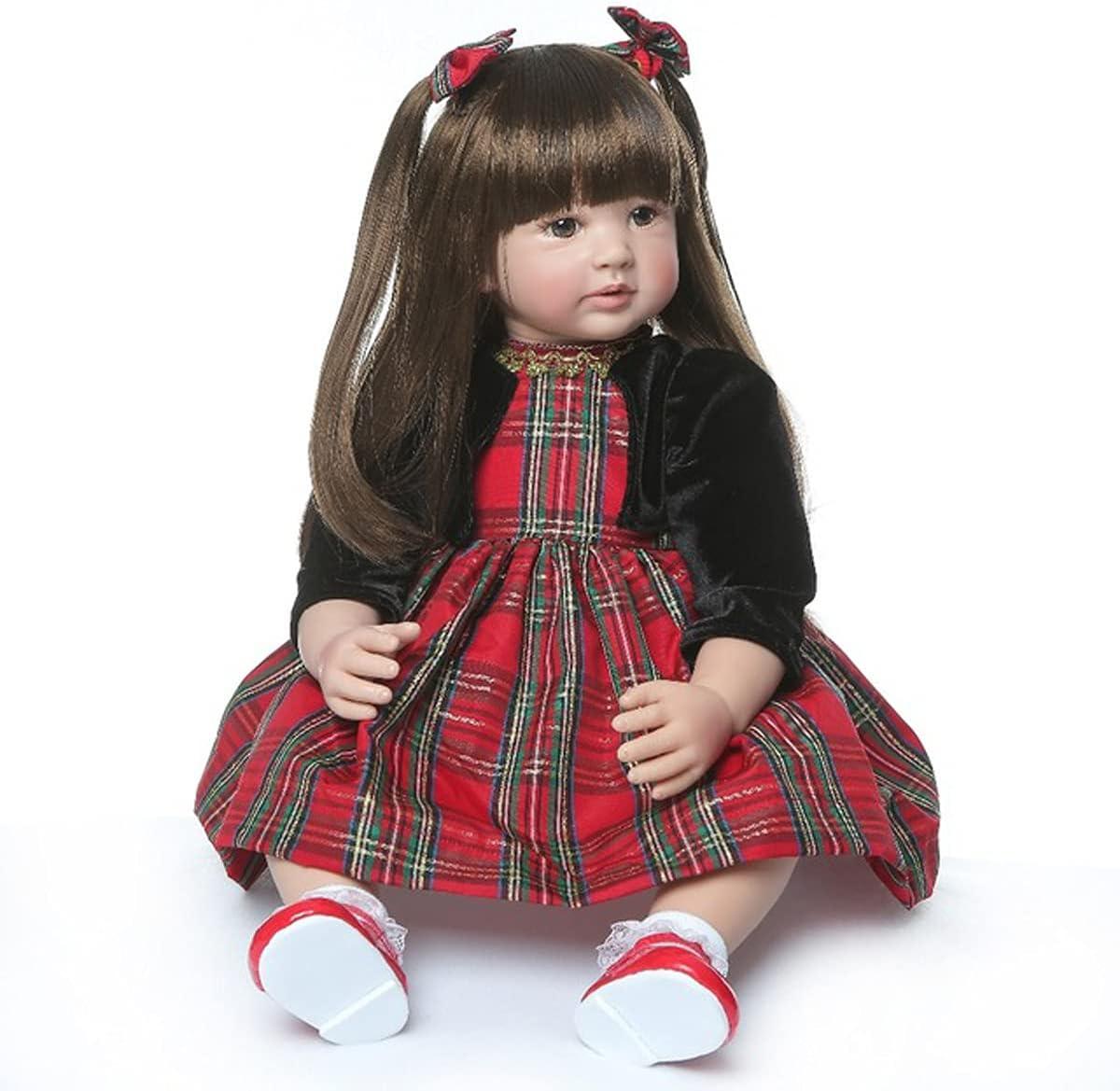 TERABITHIA 24inch Soft Big Selling rankings Max 86% OFF Size Princess Reborn Toddler Dol 60cm