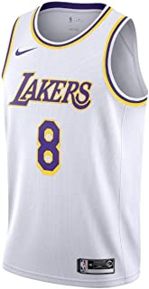 A-lee Hommes Femme Lakers 8# Bryant Kobe Maillot T-Shirt de Basket-Ball Uniforme de Basket-Ball Top Brod/és