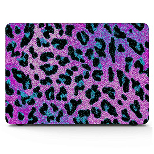 15 Inch Laptop Cover Bright Colors Leopard Animals Mac Book Accessories Hard Shell Mac Air 11'/13' Pro 13'/15'/16' With Notebook Sleeve Bag For Macbook 2008-2020 Version