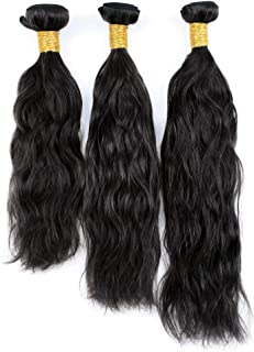 Natural Wave 8A 3 Bundles Deal Real Virgin Raw Curly Human Hair Unprocessed Weave 100g (14 16 18 Inch)