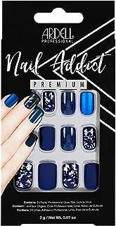 Ardell Nail Addict Premium Artificial Nail Set, Matte Blue