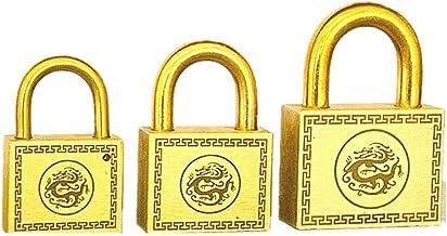 Koperen slot/vintage deur hangslot/waterdicht anti-roest anti-diefstal slot/outdoor koper deurslot-35 korte haak