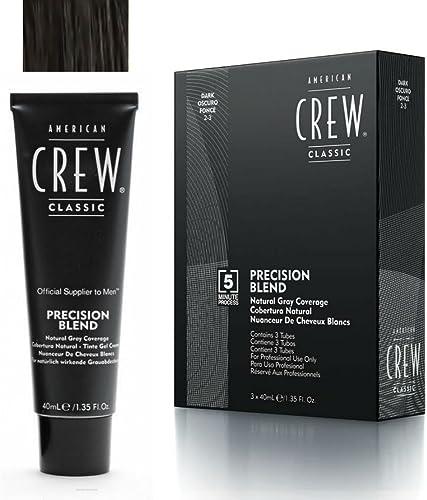 American Crew - American Crew Classic 2-3 Scuro 3X- Linea Precision Blend