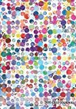 7x 10 Dot Grid Journal: Watercolor Spots Cover | Design Book, Work Book, Planner, Dotted Notebook, Bullet Journal, Sketch Book, Math Book, 5mm Dots ... Use | 150 pages (Dot paper) (Volume 5)