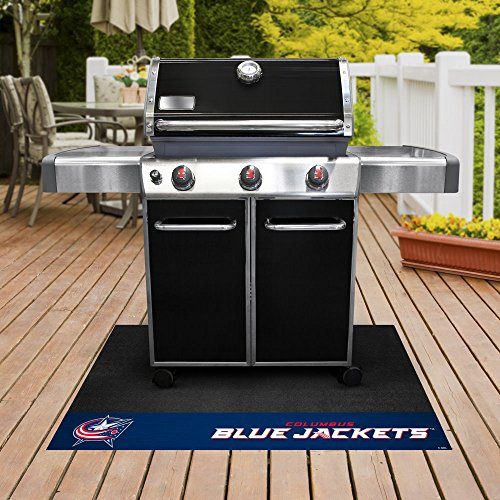 Sports Licensing Solutions, LLC NHL - Columbus Blue Jackets Grill Mat 26