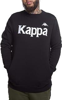 Kappa 304L1T0905 Authentic BZali - Sudadera para hombre, talla XL, color negro y gris