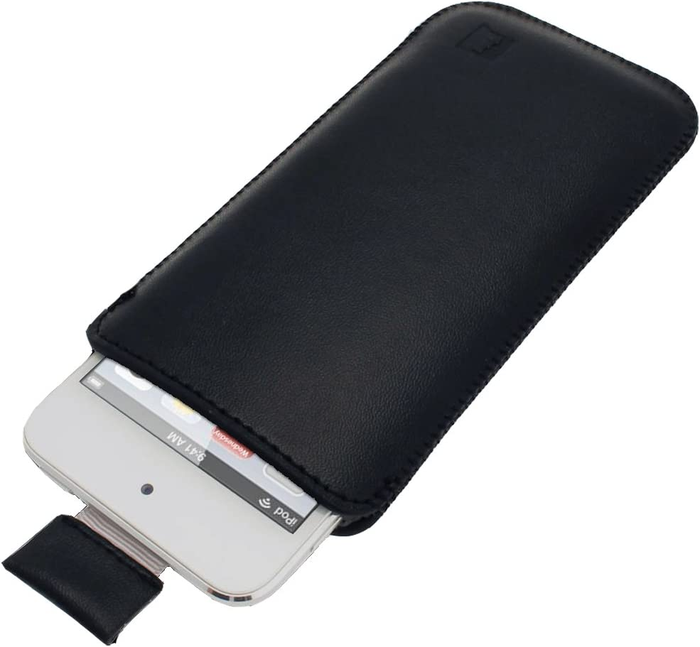 iGadgitz U2046 Leather Pouch Case Cover Compatible with Apple iP
