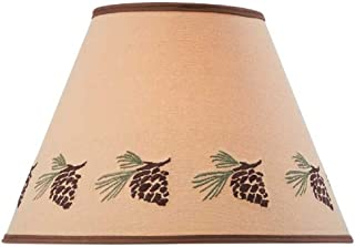 Park Designs Pinecone Embroidered Shade 12 inches