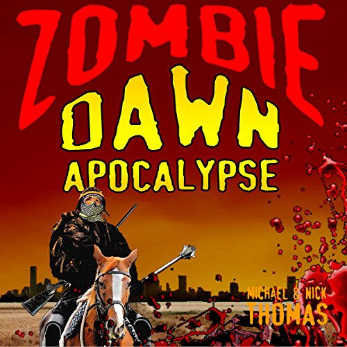 Zombie Dawn Apocalypse audiobook cover art