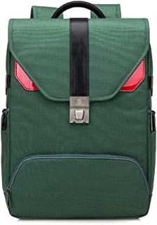 """Backpack 13.3, 13, 14, 15.6-inch Laptop Bag, Good-Looking Computer Bag, Large-Capacity Anti-Theft Backpack (Multiple Colors Available) (Color : Green, Size : 13"""")"""