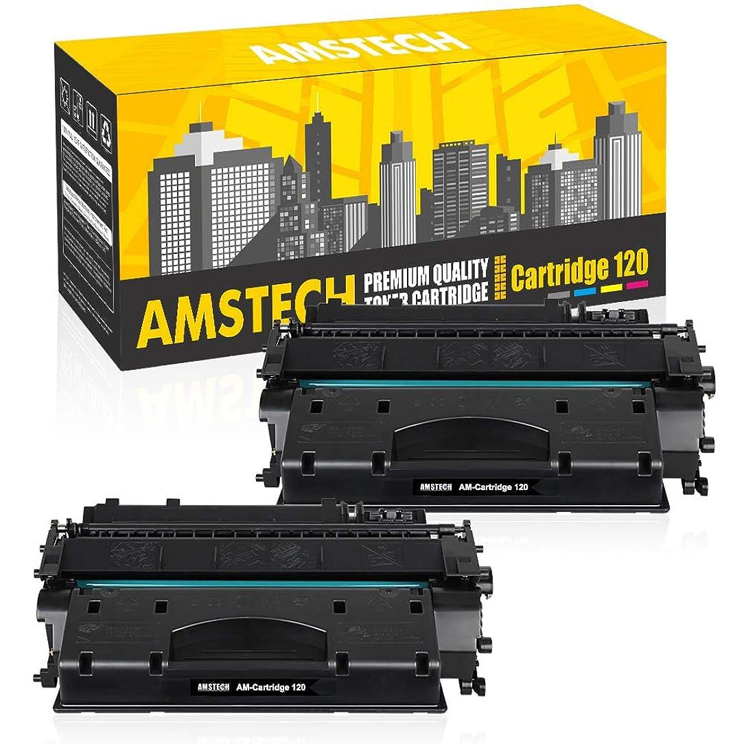 Amstech Compatible Toner Cartridge Replacement for Canon 120 CRG-120 Cartridge 120 Canon Imageclass D1550 D1520 D1320 D1120 D1350 D1150 D1370 D1170 D1180 Canon D1520 D1550 Ink Toner Printer (2-Black)