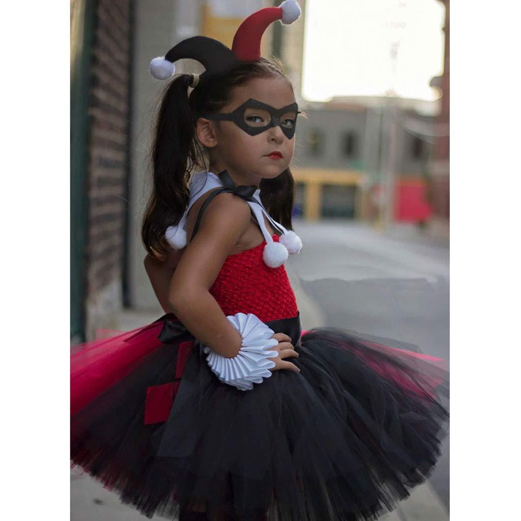 Traje De Payaso, Disfraz De Bruja De Halloween Vestido De Princesa ...