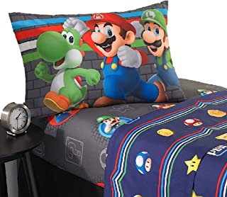 Super Mario 3 Piece Twin Sheet Set