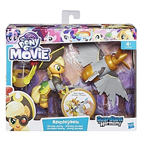 My little Pony c3344el3die Film Piraten Power Applejack Figur
