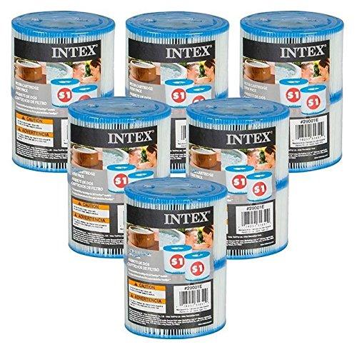 INTEX - Cartucce Pure Spa (6 confezioni da 2 filtri)