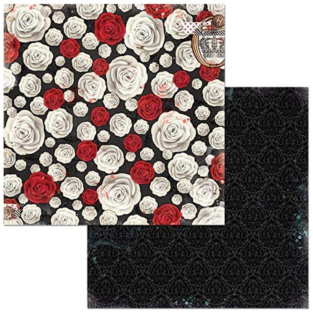 Bo Bunny 7310337 Flowers Paper, Multicolor
