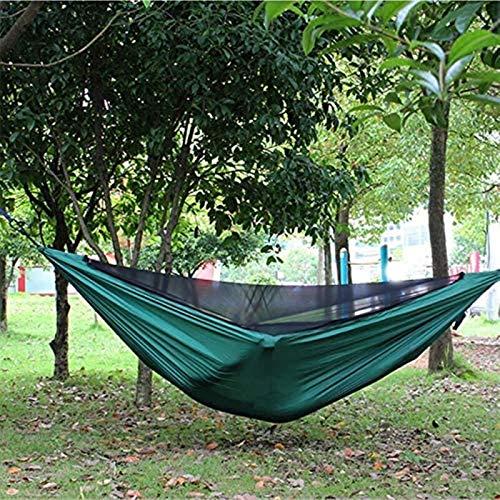 Hamaca portátil, Doble Persona, Camping, Ocio, Viajes, Muebles al Aire Libre, Hamaca, mosquitera Ultraligera