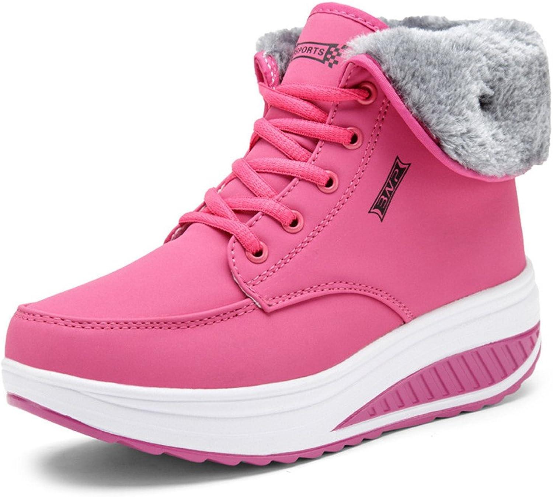 Julitia 2019 Women Female Boots Winter Women Warm Snow Cotton shoes