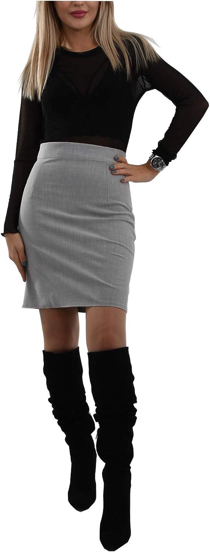 Above The Knee Skirt | Pocketless | Zipper On The Back | Trendy | Handmade and Short
