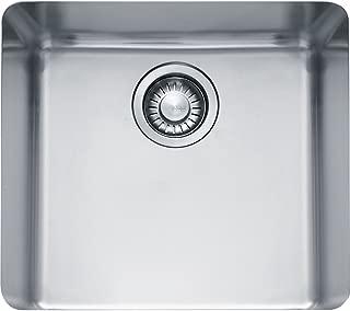 Franke KBX110-18 Kubus 15-Inch x 17-Inch Single Bowl Undermount Kitchen Sink by Franke