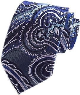 Men's Novelty Paisley Ties Cravat Luxury Pattern Wedding Formal Designer Necktie