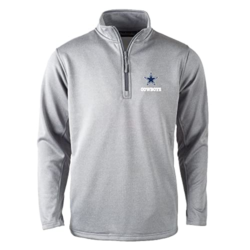 c5667a68cb8 Dunbrooke Apparel NFL Dallas Cowboys Unisex All Starall Star Tech Fleece  1/4 Zip,