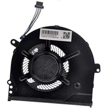 Deal4GO Replacement CPU Cooling Fan for HP Pavilion 14-BK061ST 14-BK TPN-q191 15-CK 15-CC 15-CC100 CPU Fan 927918-001