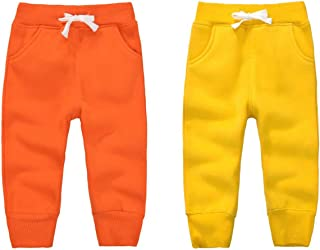 CuteOn Boys Cotton Fleece Winter Pants Various Colors 1-5Years