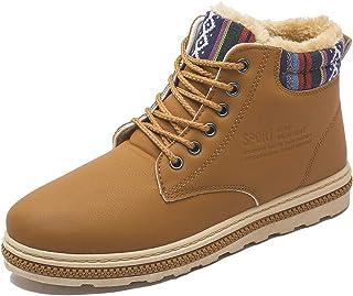 fereshte Men's Nonslip Short Ankle Rain Boots Outdoor Waterproof Shoes