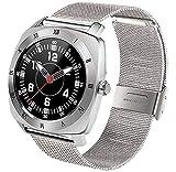 Jepssen Pan Watch Feel Silver + Metal Smartwatch