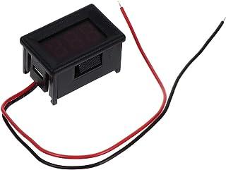 VICASKY Dois fios mini voltímetro digital LED medidor de tensão AC 25 – 500 V Volts painel de bateria testador para carros...