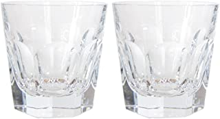 Baccarat Crystal HARCOURT 1841 OLD FASHION #2 BOXED SET OF 2