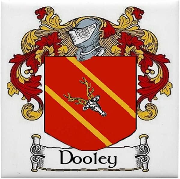 CafePress Dooley Coat Of Arms Tile Coaster Drink Coaster Small Trivet