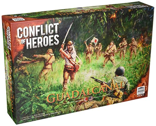 Academy Games ACA05014 Conflict of Heroes: Guadalcanal, Brettspiel
