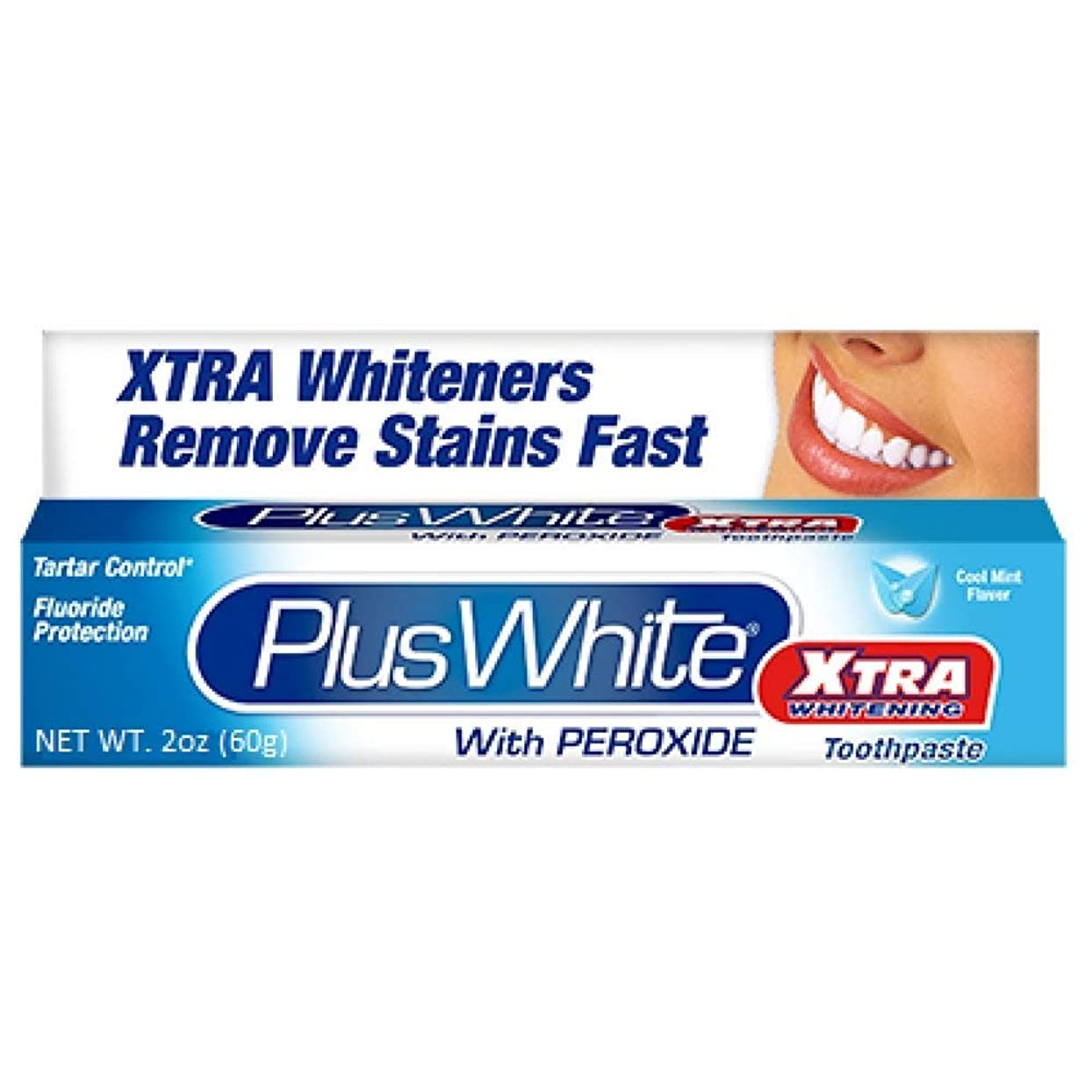 優勢ちょっと待って冬Plus White 過酸化物2オンスハミガキエクストラホワイトニングホワイトニング(4パック)