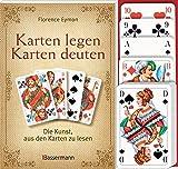 Karten legen - Karten deuten (Set): Die Kunst, aus den Karten zu lesen - Florence Eymon
