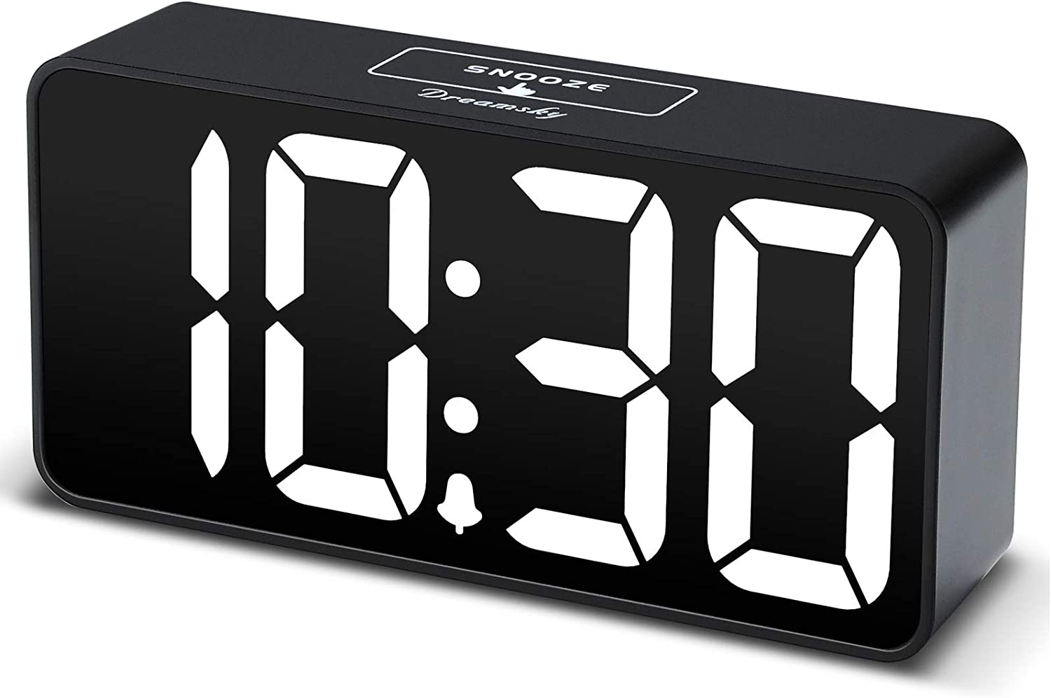 DreamSky Compact Digital Alarm Clock for Manufacturer OFFicial shop Charging New mail order USB with Port