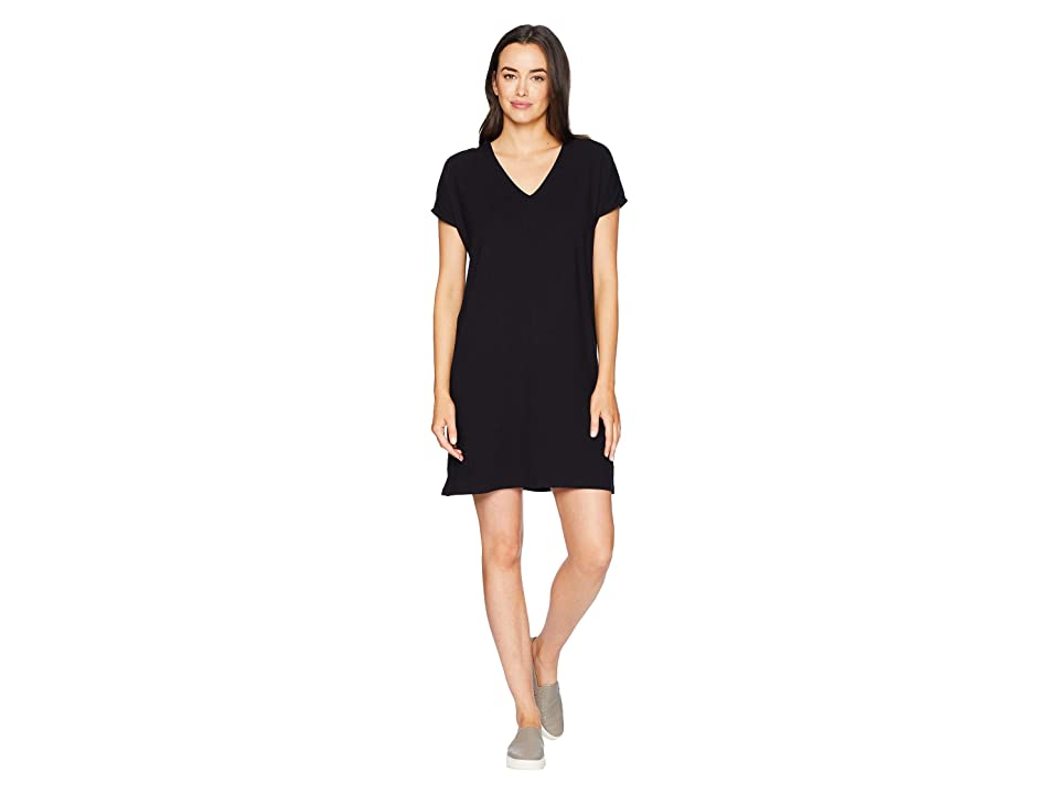 Lilla P Lace Back Dress (Black) Women