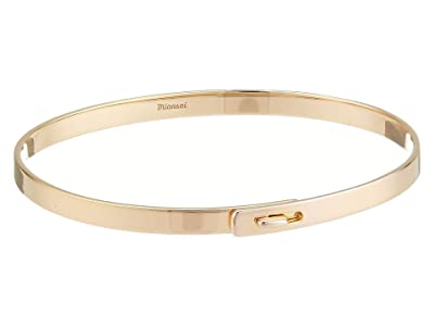 Miansai Thin Standard Cuff (Polished Gold) Bracelet
