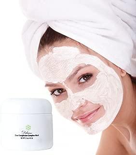 Delarins Clear Complexion Camphor Mask. Best Facial Pore Minimizing Clarifying Acne Treatment. (2.3 fl oz)