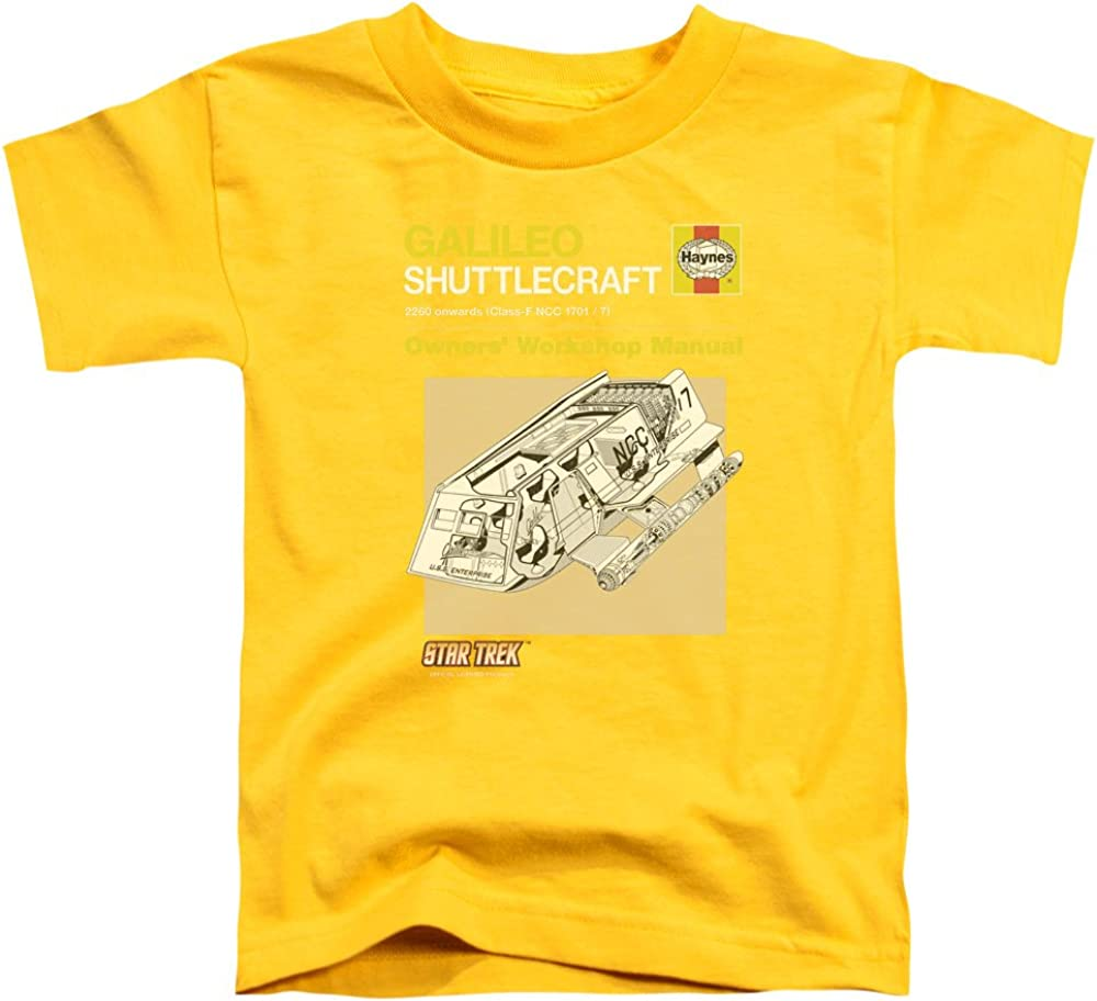 Star Trek - Toddlers Shuttle Manual T-Shirt