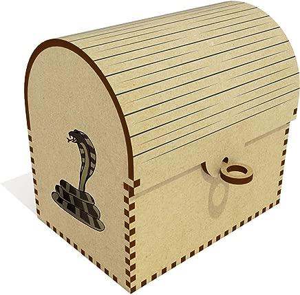 Azeeda  Cobra  Treasure Chest Jewellery Box  TC00041225